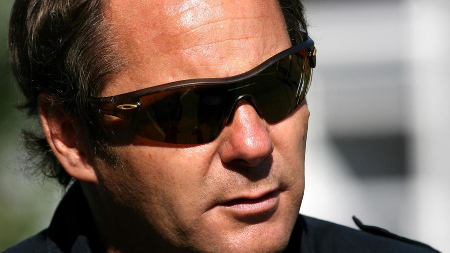 Gerhard Berger injured in skiing fall