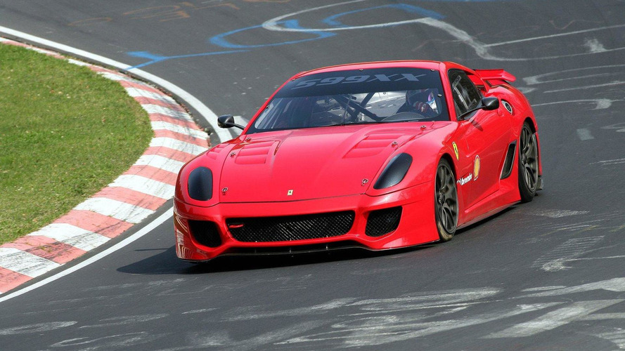 Ferrari 599XX breaks 7 minute barrier on the Nurburgring, sets new record [Video]