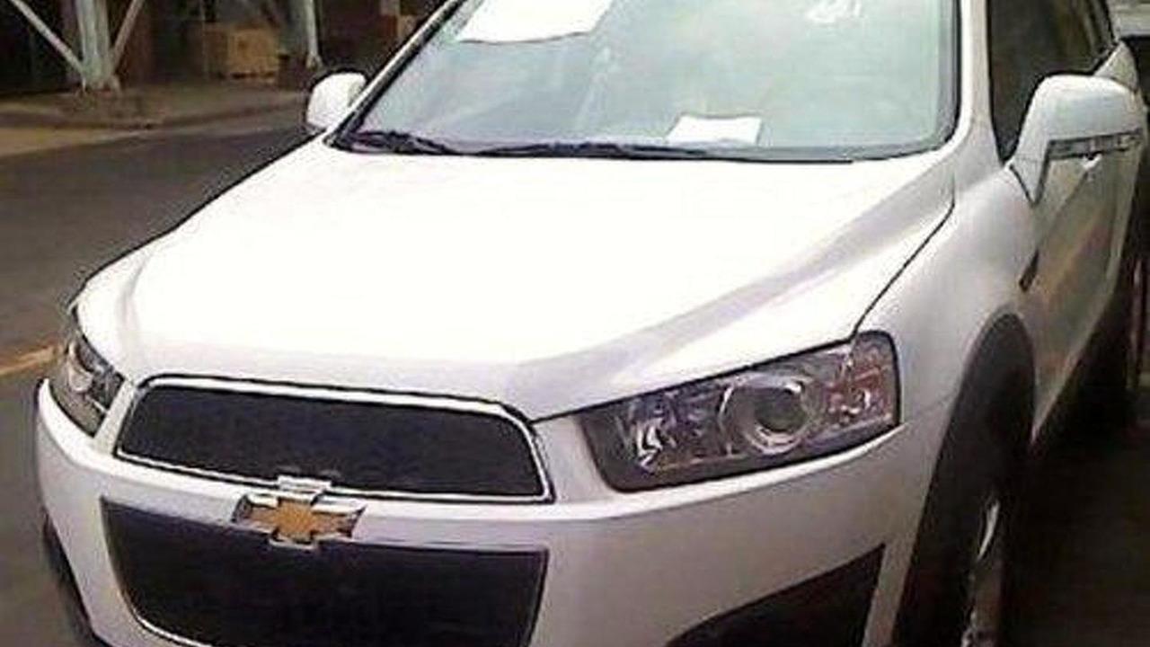 2011 Chevrolet Captiva spy photo, 500, 26.07.2010