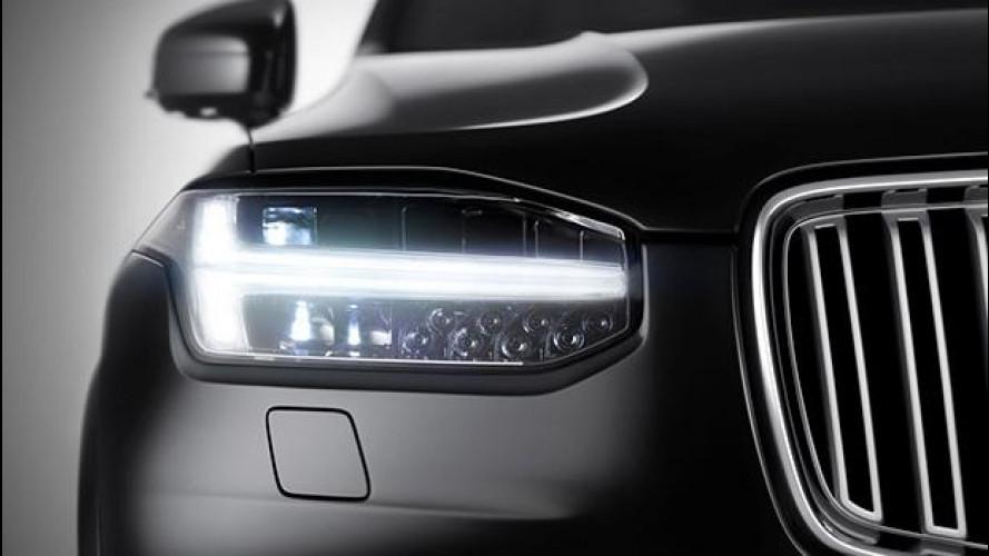 L'occhio della nuova Volvo XC90