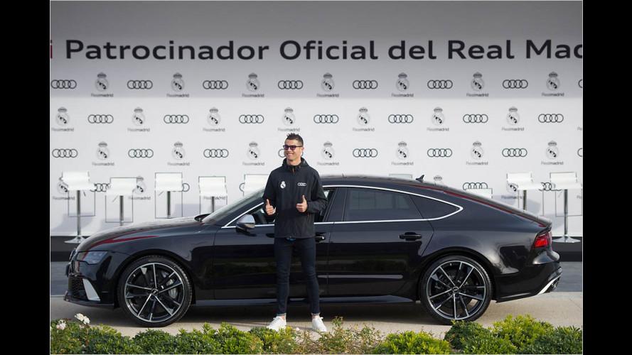 Neue Dienstwagen für Real Madrid