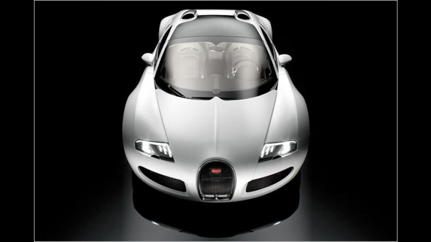 Bugatti Veyron 16.4 Grand Sport: Offen und herrlich