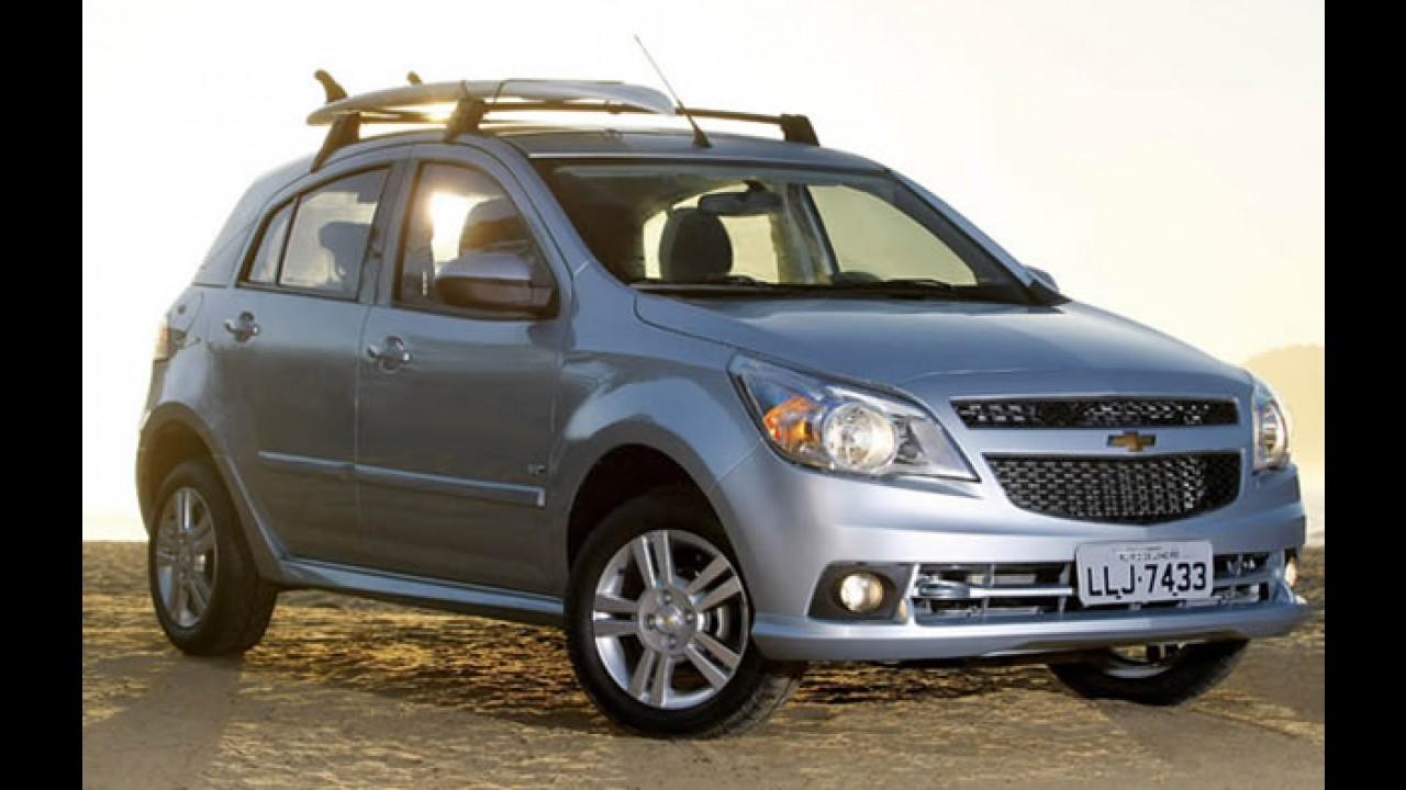 Só para o Rio de Janeiro: Chevrolet Agile Rico