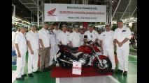 Honda alcança 18 milhões de motos produzidas no Brasil