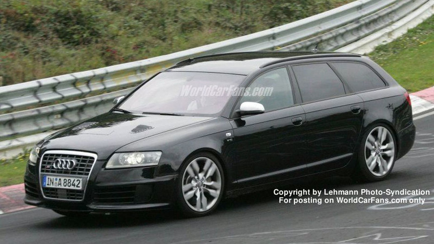 SPY PHOTOS: New Audi RS6