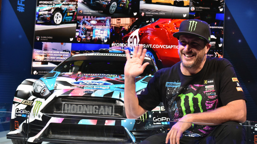 10 minutes w/ Ken Block of Hoonigan Racing