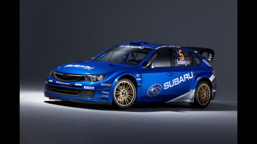 La Subaru Impreza WRC2008 è arrivata!