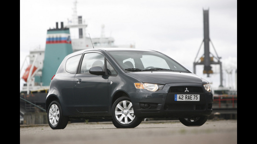 Mitsubishi Colt restyling in arrivo