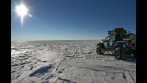 Il Toyota Hilux al Polo Sud