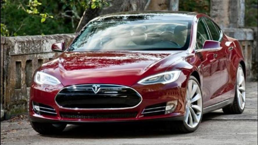 Tesla Model S in Italia in primavera, costerà 62.000 euro