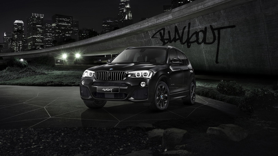BMW X3 gets Blackout Edition in Japan