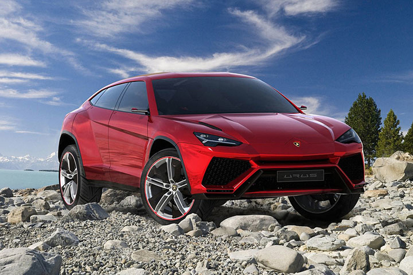 The First Twin-Turbo Lamborghini Will be an SUV