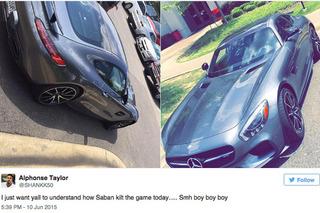 Nick Saban's Mercedes-AMG GT S Shut Down Training Camp