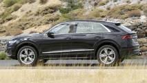 2018 Audi Q8 neredeyse kamuflajsız