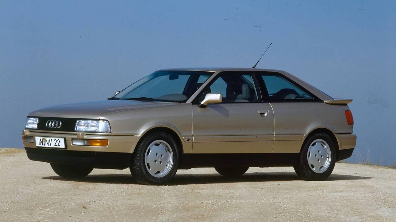 30 évvel ezelőtt - Audi Coupé B3