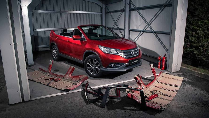 Honda CR-V Roadster April Fool's Joke Looks Good Enough To Be Real