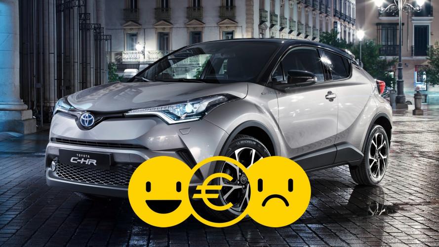Promozione Toyota CH-R Hybrid, perché conviene e perché no