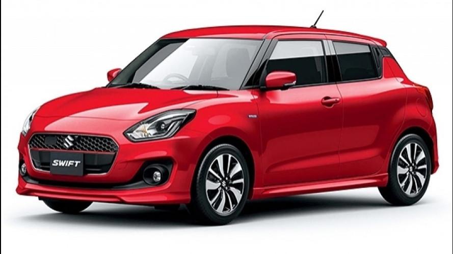 Nuova Suzuki Swift, ecco quella giapponese