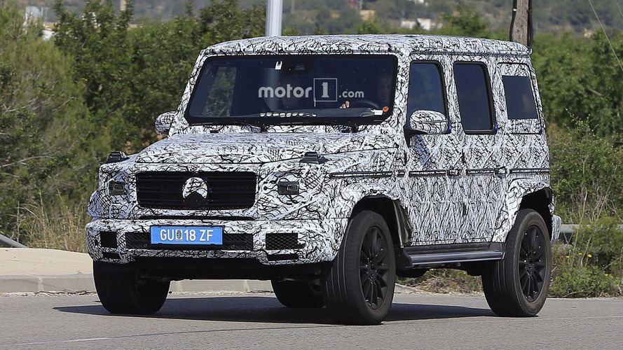 New 2018 Mercedes G-Class spied