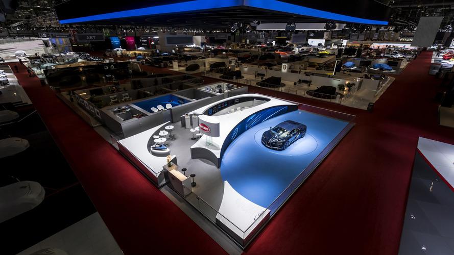 Cenevre Otomobil Fuarı'nın en iyi standı Bugatti'ninki seçildi