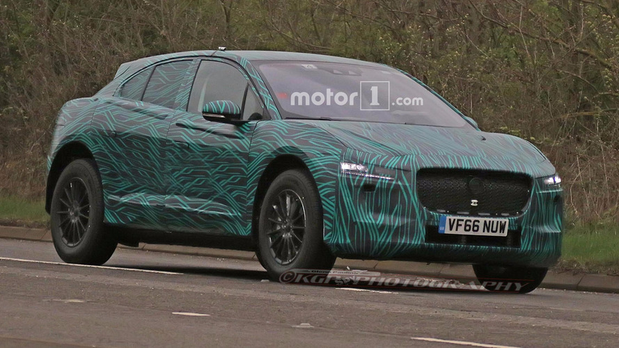 Jaguar I-Pace Spied In Electrifying Camo, Not Hiding Much
