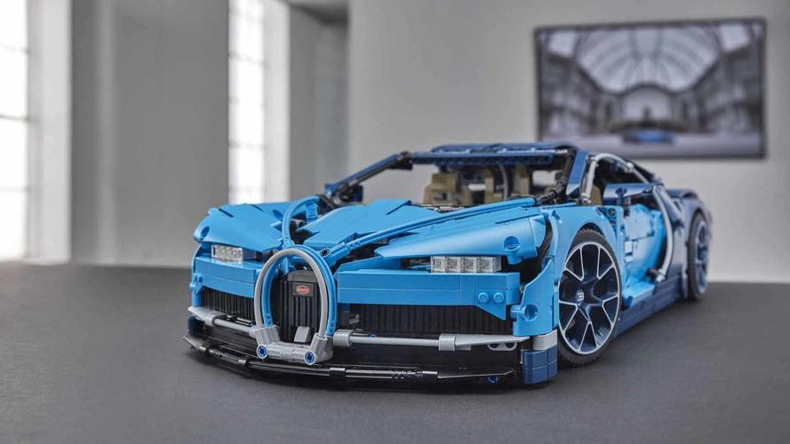 Lego reproduce el Bugatti Chiron de manera espectacular