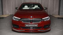 BMW M550i xDrive Aventurine Red