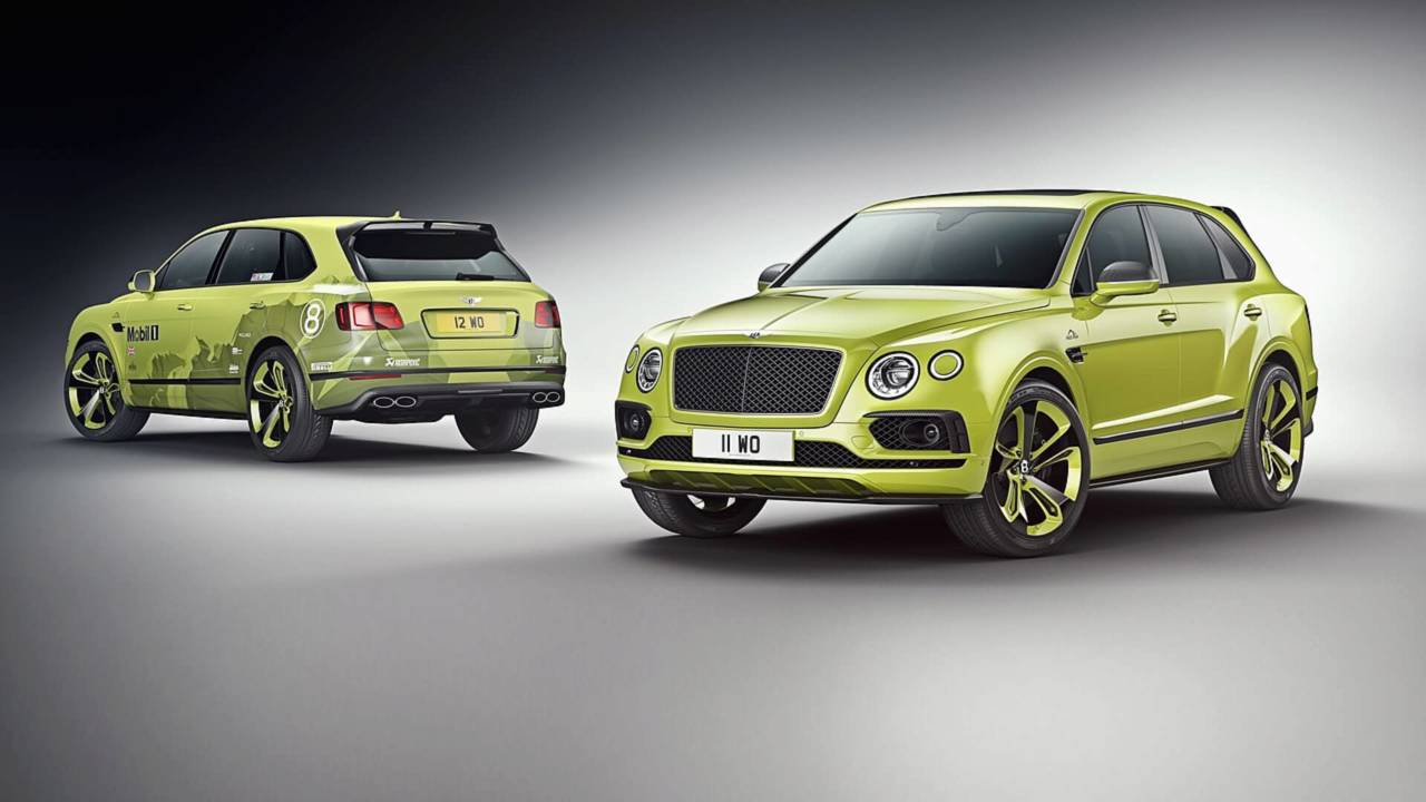 Bentley Bentayga for Pikes Peak