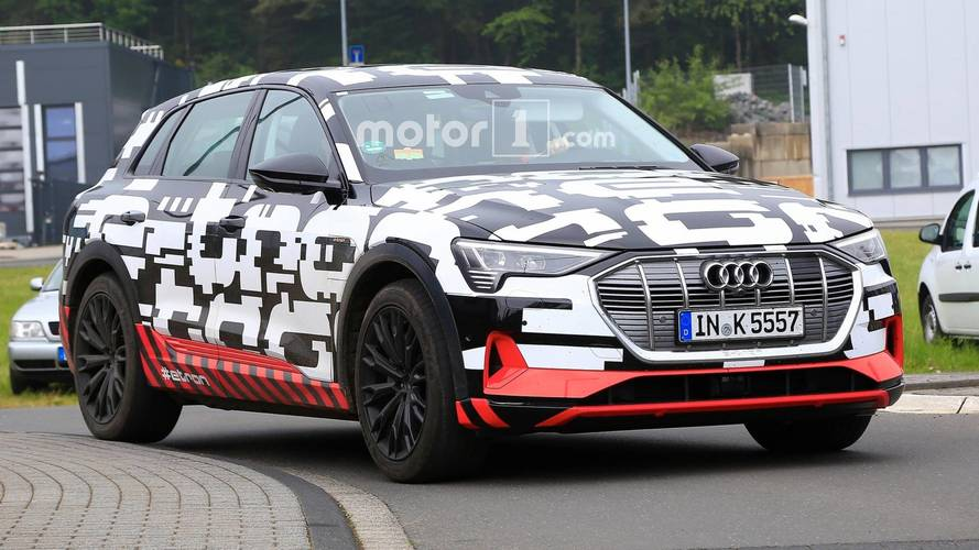 Audi E-Tron Looks Almost Production-Ready In New Spy Photos