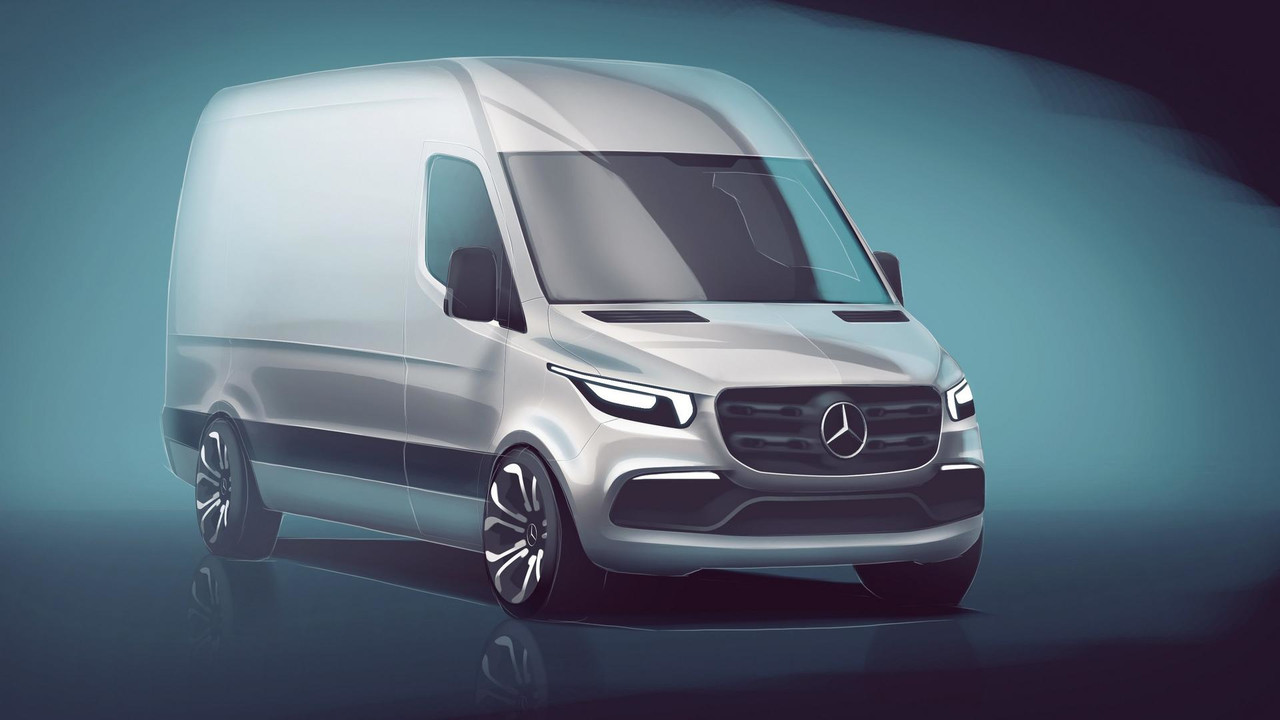 2018 Mercedes Sprinter teaser