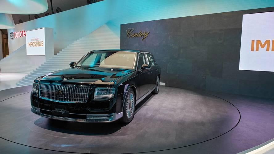 Toyota Century To Be Sold Outside Japan? Perhaps; Probably Not