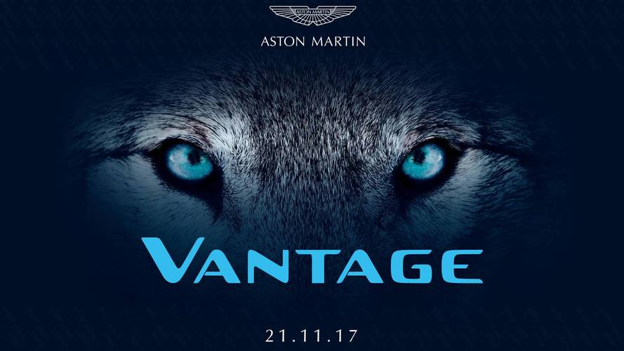 It's Official: Aston Martin Vantage To Be Revealed On November 21