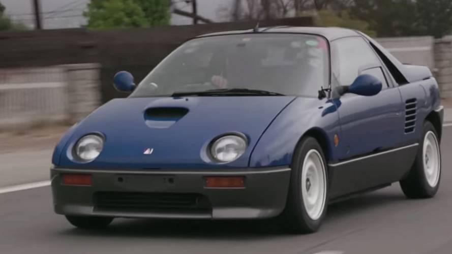 Mazda Autozam AZ-1 surprises Jay Leno