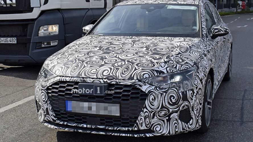 2019 Audi A3 spy photos