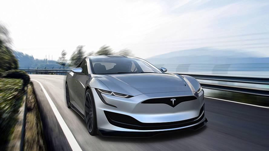 Next-Gen Tesla Model S Rendered In Striking Form