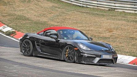 Erwischt: Porsche 718 Boxster Spyder so gut wie fertig