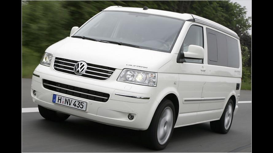 VW bringt zwei neue Sondermodelle auf Basis des T5