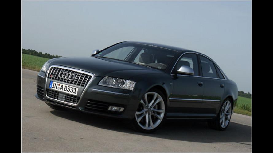Langstrecken-Crusier mit Biss-Modus: Der Audi S8 im Test