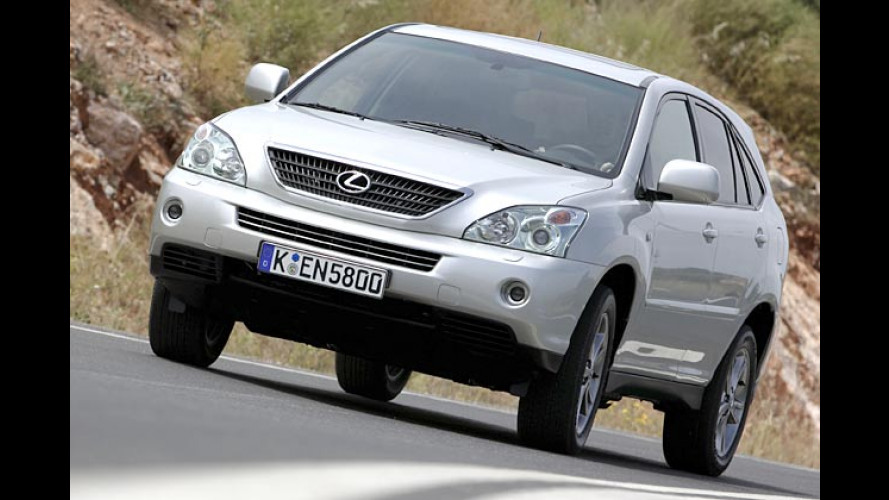 Lexus RX 400h: Den Allrad-Hybrid gibt es ab 49.740 Euro