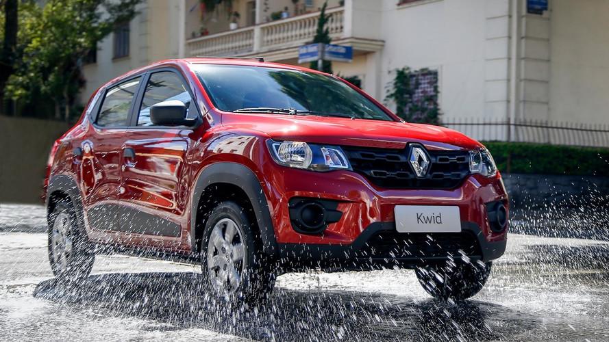 Renault Kwid fica até R$ 1.000 mais caro e parte de R$ 30.990
