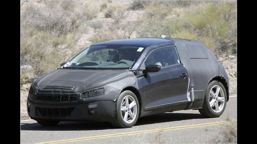 Heißer Sturm bläst schon: VW Scirocco als Erlkönig erwischt