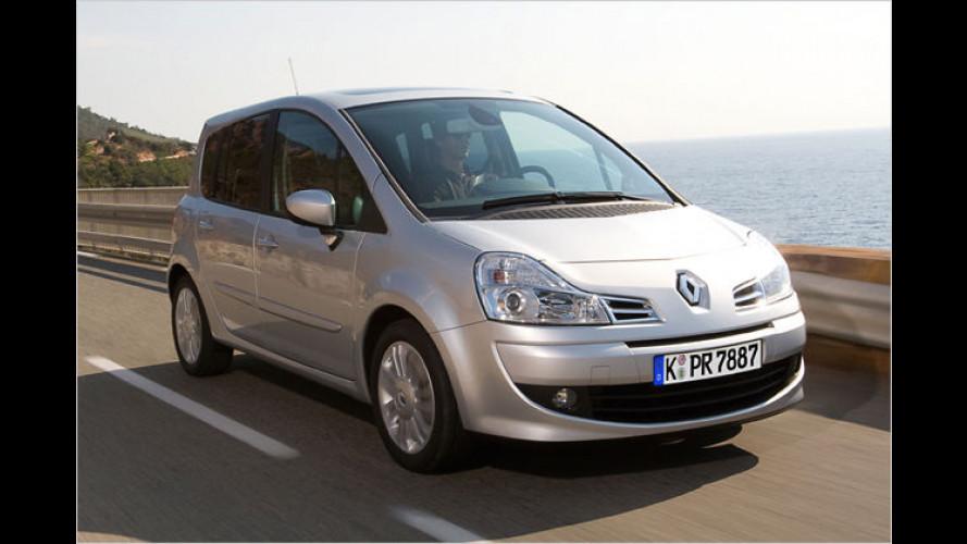 Renault Modus jetzt mit ESP ab Werk und neuem Motor