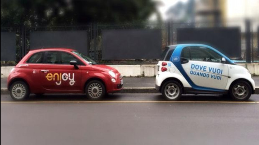 Car sharing: periferie a rischio