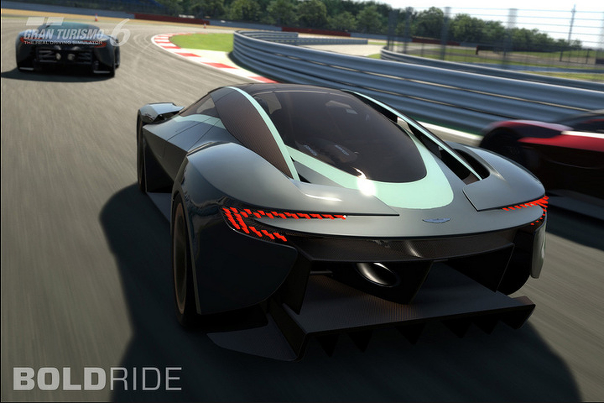Aston Martin DP 100 Is A Fantastic, Digital Vision Of A Future Supercar  [w/Video]