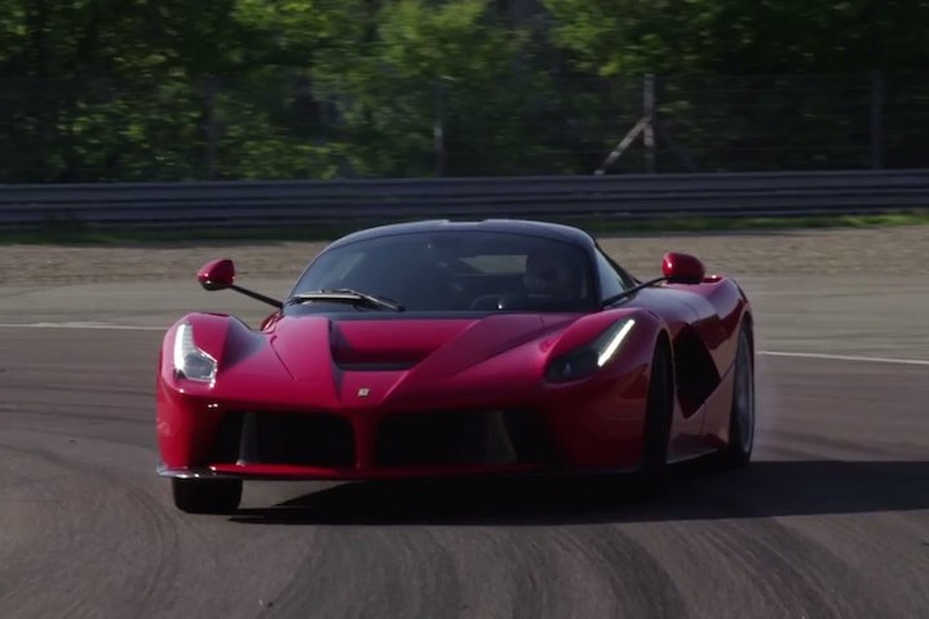 Journalists Drive the New Ferrari LaFerrari and Love It, Of Course [video]