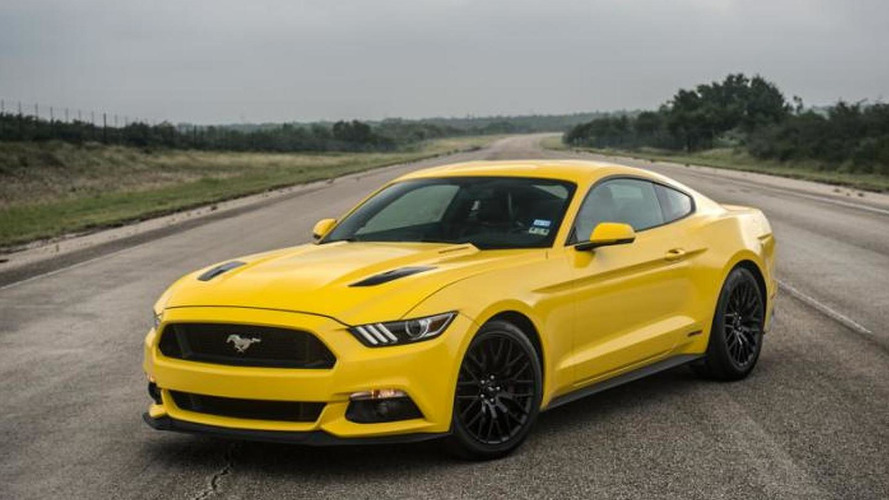 774 bhp ford mustang gt by hennessey hits 207 9 mph video. Black Bedroom Furniture Sets. Home Design Ideas
