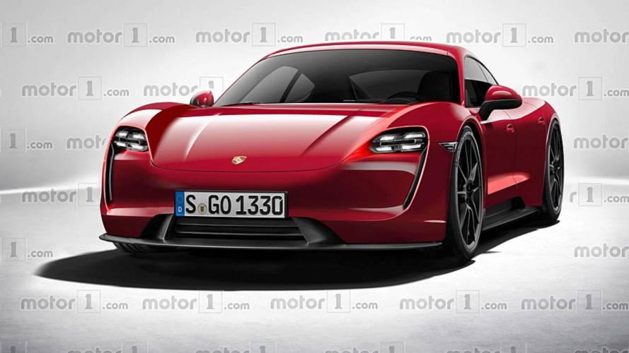 Porsche Taycan: Erste technische Details