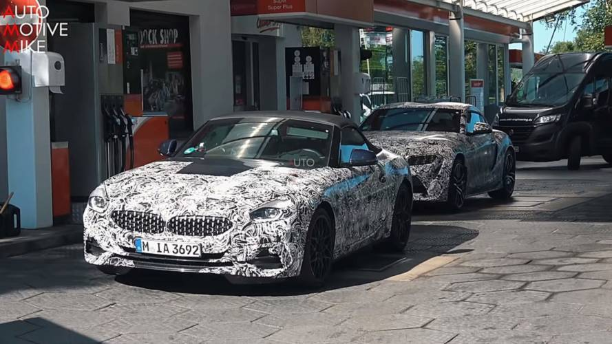 Watch BMW Z4 and Toyota Supra frolic together at the Nurburgring