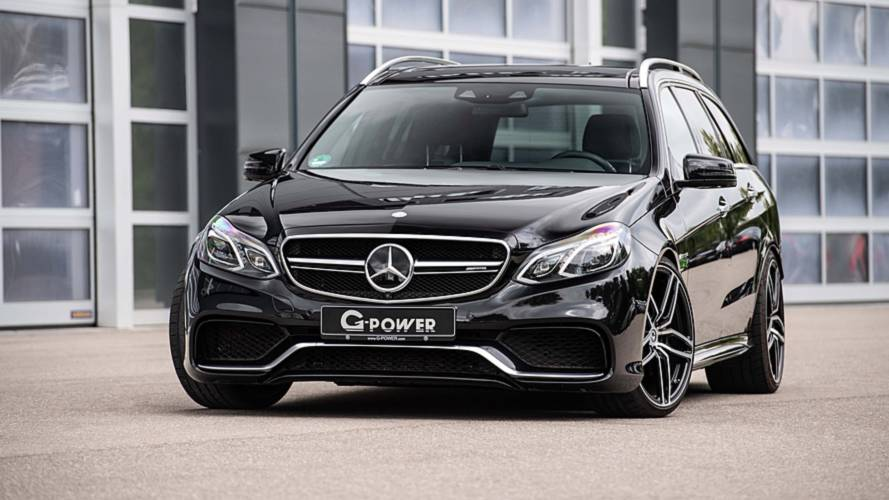 Mercedes benz e63 s wagon gets an 800 hp upgrade by g power for Mercedes benz s 63 amg