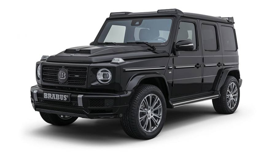 Brabus Works Its Magic On The New Mercedes G-Class